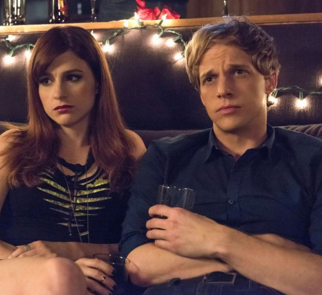 Chris Geere co-stars with Aya Cash in hit sitcom 'You're The