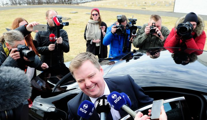 Iceland's Prime Minister Sigmundur David Gunnlaugsson resigned Tuesday after a massive leak of documents revealed his wi