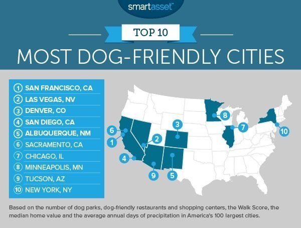 The 10 Most Dog-Friendly Cities In America | HuffPost