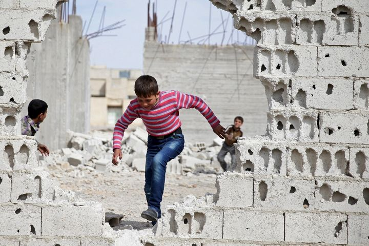 Some 7.5 million children are affected by the war in Syria, 2 million of whom are not attending school, Savethe Childre