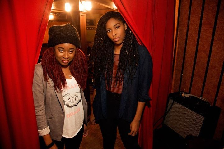 "Comedians Jessica Williams and Phoebe Robinson have teamed up for a hilarious podcast called, ""2 Dope Queens."""
