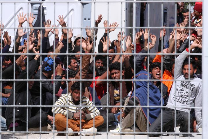 Critics of the EU-Turkey deal expressed doubts that Greece would be able to process thousands of asylum claims, shelter refug
