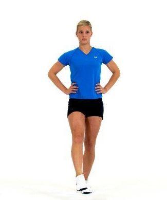 The single-leg balance and reach.