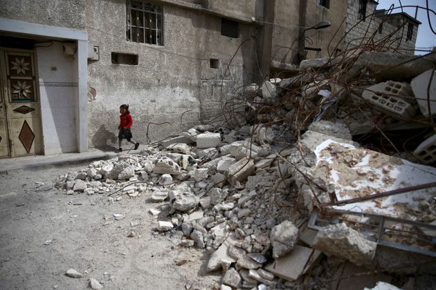 When shelling starts, some children are too scared to go out, missing their chance to earn their daily...