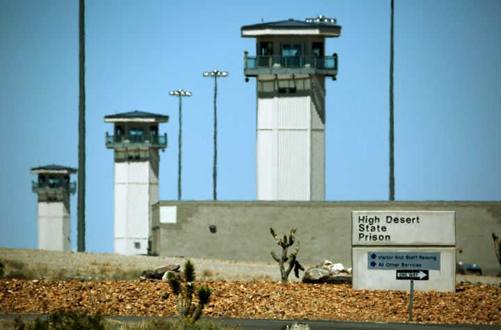 An inmate at High Desert State Prison says the facility is still using shotguns to break up fights.