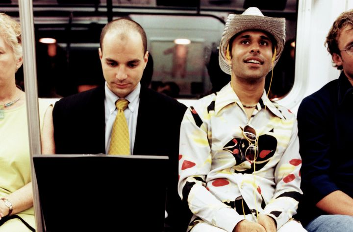 Average subway commuters or inspiration for Buster Bluth?