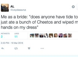 16 Tweets That Prove That Weddings *Are* A Laughing Matter