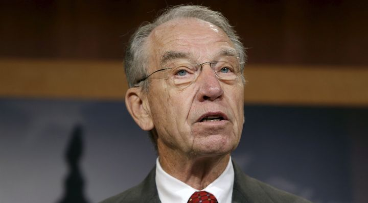 Sen. Chuck Grassley (R-Iowa) is one of the co-chairs of the drug caucus, which hosted an anti-marijuana hearing on Tuesday.