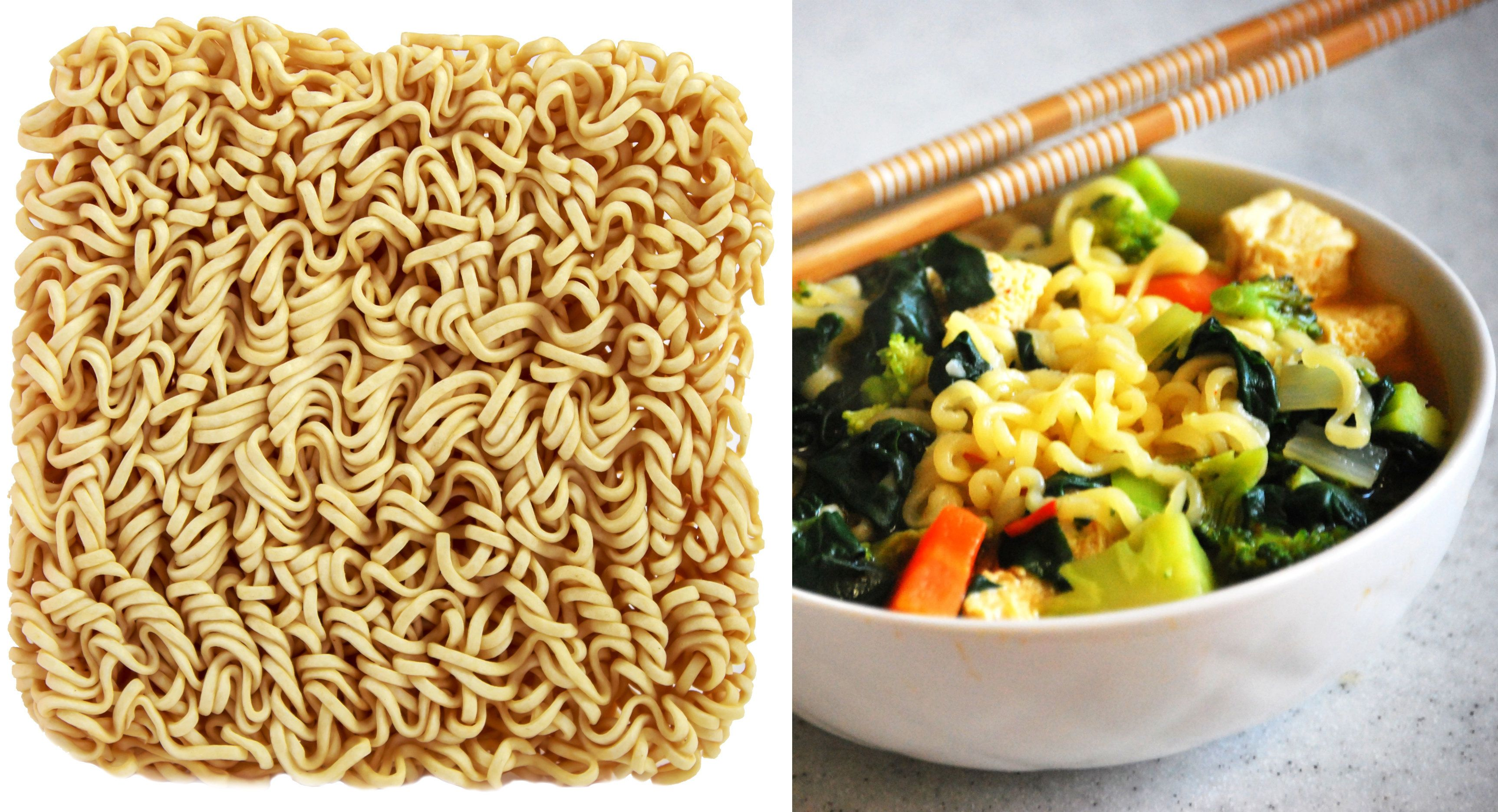 Ramyeon noodles