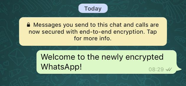 WhatsApp Adds End-To-End Encryption: Here's Why That's ...