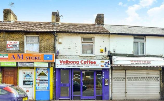 This bedsit above a cafe is on the market for