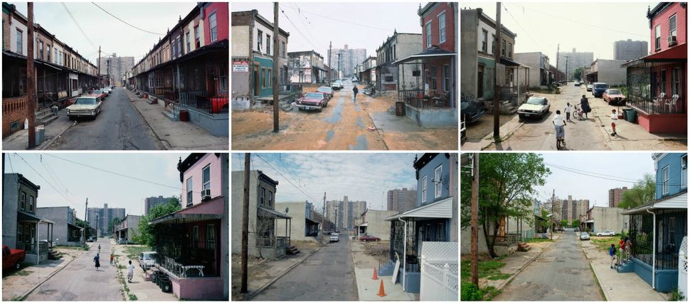 Views Along Fern St., Camden, New Jersey, shown in 1979, 1988, 1997, 2004, 2009 and 2014.