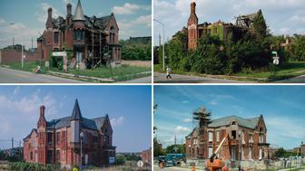 Former Ransom Gillis mansion, Detroit