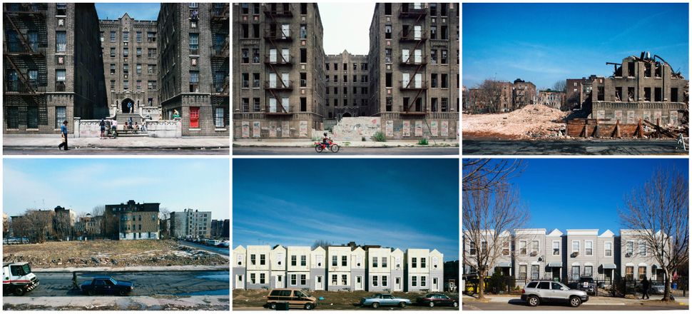 Vyse Ave. at East 178th St., Bronx, New York, shown in 1980,1984, 1986, 1988, 1993 and 2013.