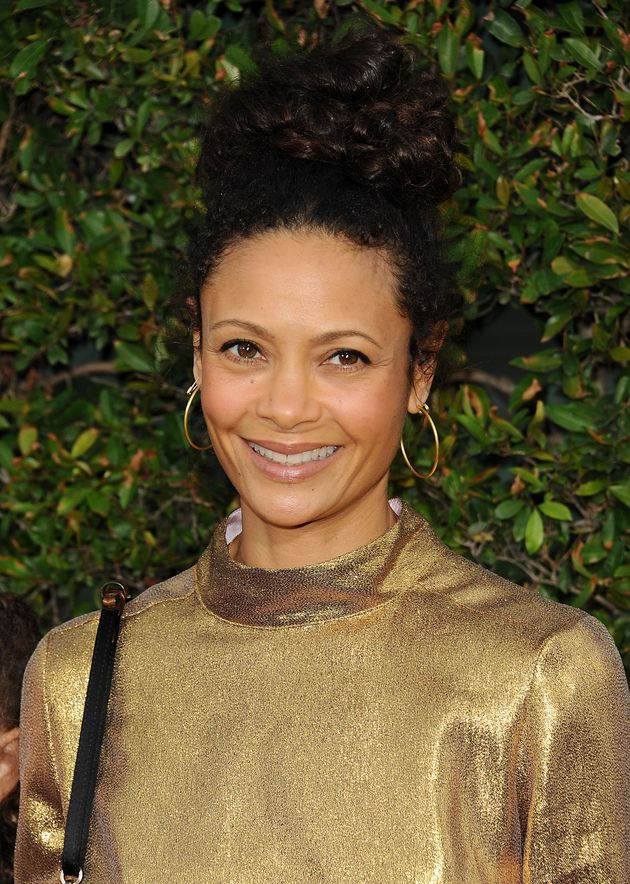 Thandie Newton looked