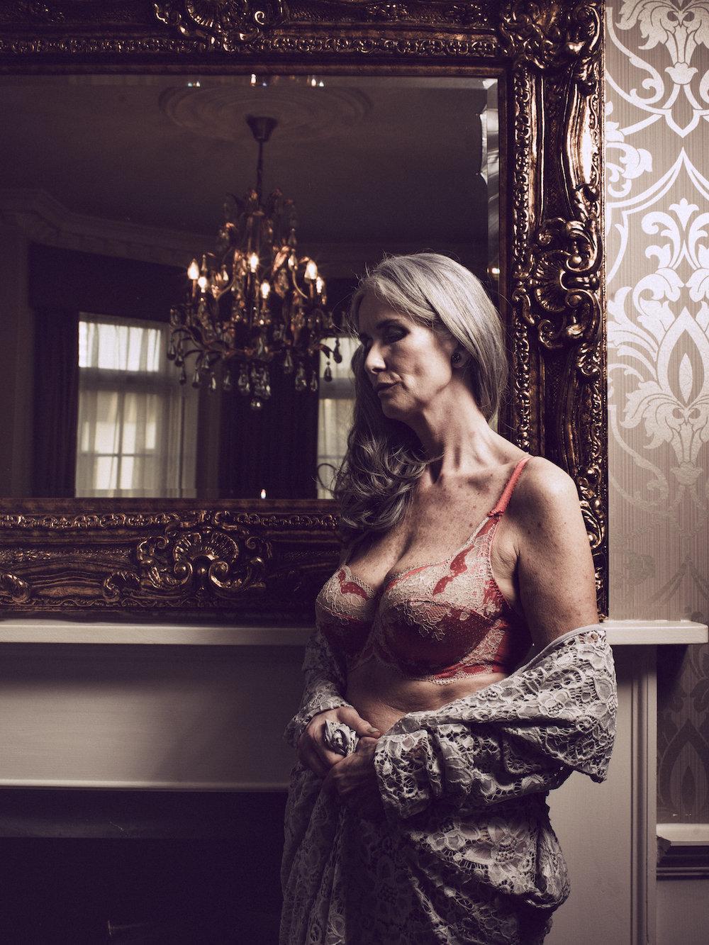 Sexy older women lingerie