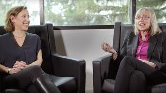 Susan Wojcicki sat down with her mother, Esther, for her #TalkToMe series.