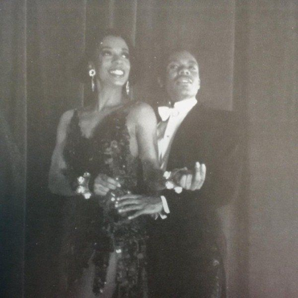 "Tanya and dance partner Eugene Fleming, from ""Black & Blue."""