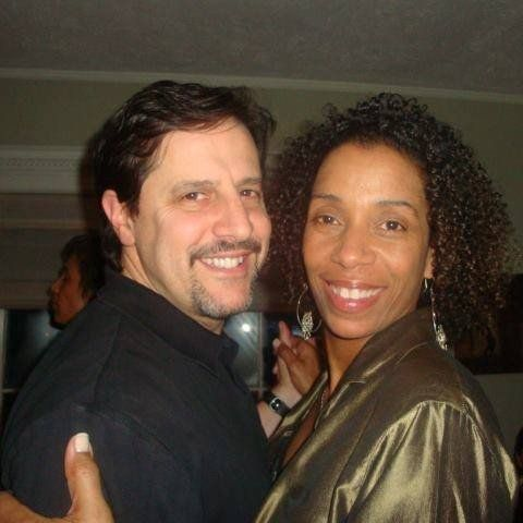 Tanya Gibson-Clark & husband Brian during happier, healthier times.