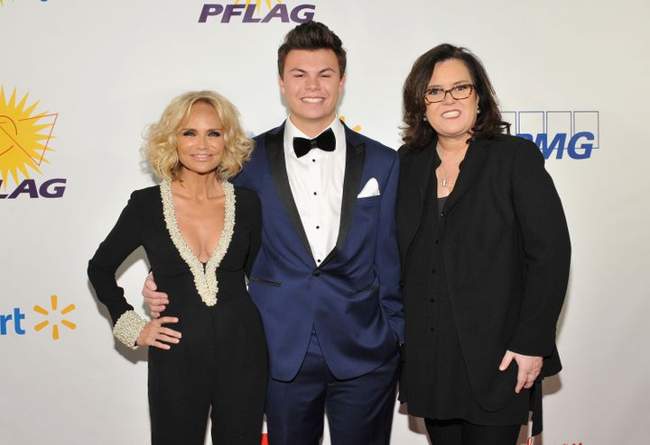 Kristin Chenoweth, Blake Christopher O'Donnell and actress Rosie O'Donnell