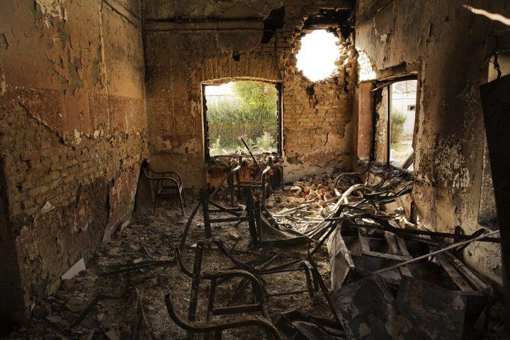 On Oct. 3, 2015, a Doctors Without Borders (MSF) trauma hospital in Kunduz, Afghanistan, was destroyed by U.S. airstrikes. Fo