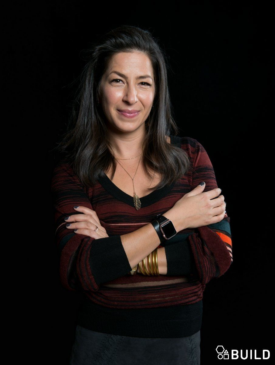 Rebecca Minkoff visits AOL Hq for Build on October 6, 2015 in New York. Photos by Noam Galai