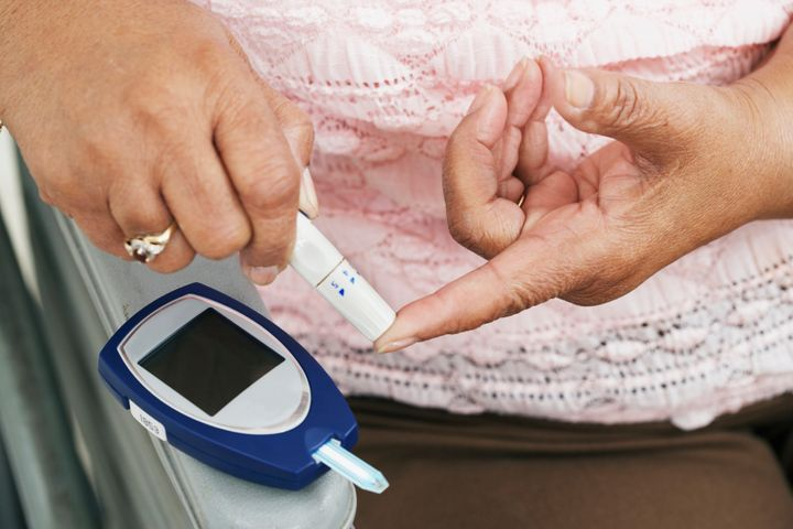 The increase in people with type 2 diabetes is becoming a big problem in poor countries.