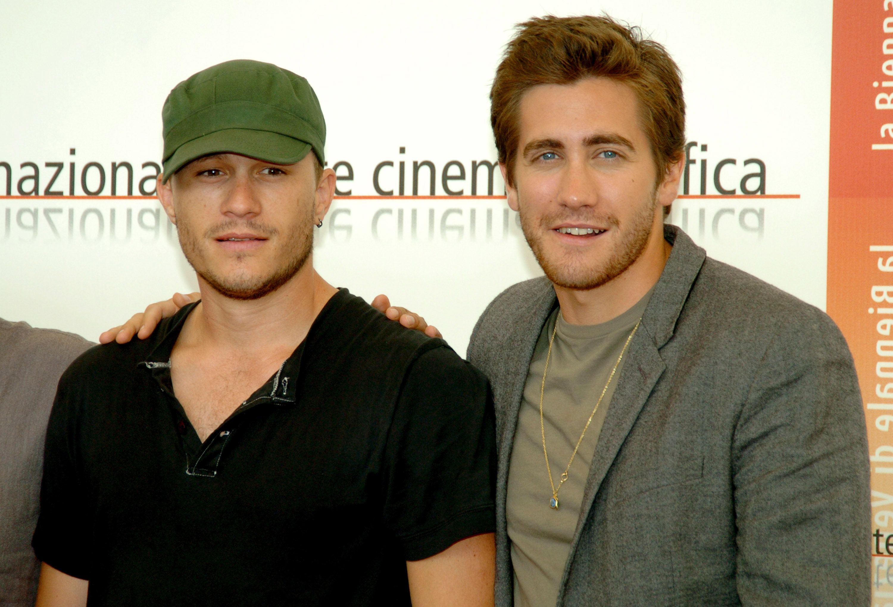 Heath Ledger and Jake Gyllenhaal (Photo by George Pimentel/WireImage)
