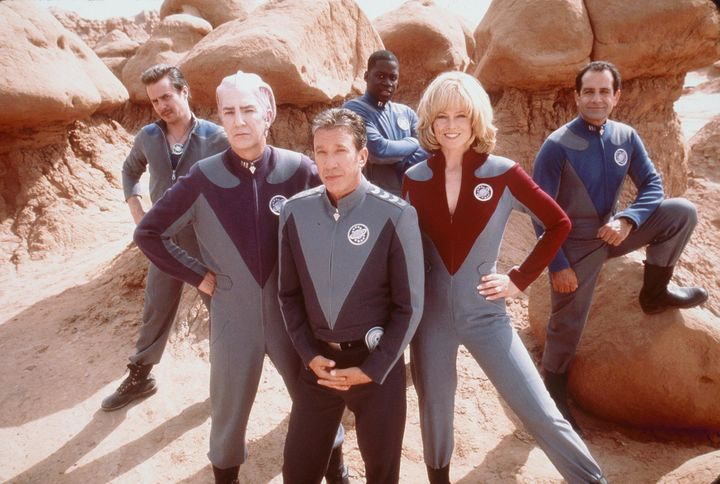 The cast of 1999's 'Galaxy Quest.'