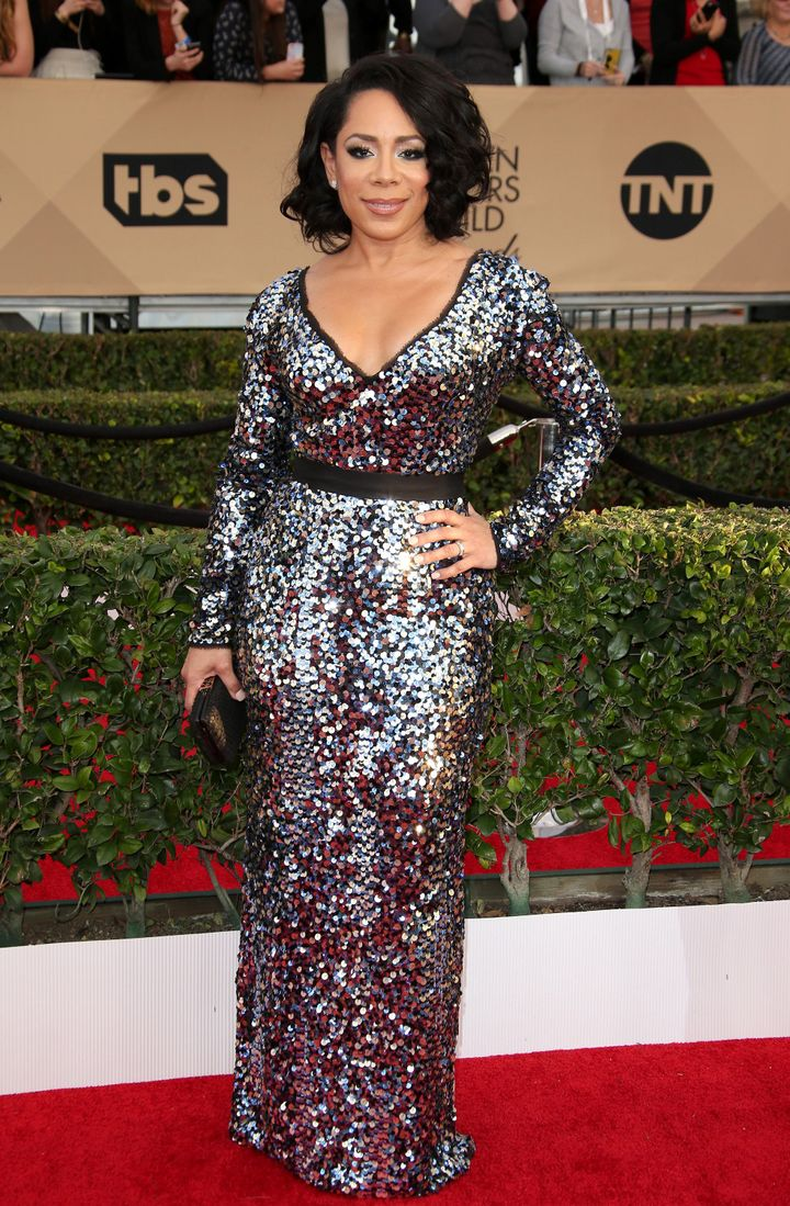 Actress Selenis Leyva attends the 22nd Annual Screen Actors Guild Awards at The Shrine Auditorium on Jan. 30, 2016 in Lo