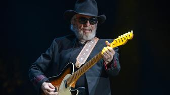 INDIO, CA - APRIL 24: Merle Haggard performs onstage during day one of 2015 Stagecoach, California's Country Music Festival, at The Empire Polo Club on April 24, 2015 in Indio, California. (Photo by Alli Harvey/WireImage)