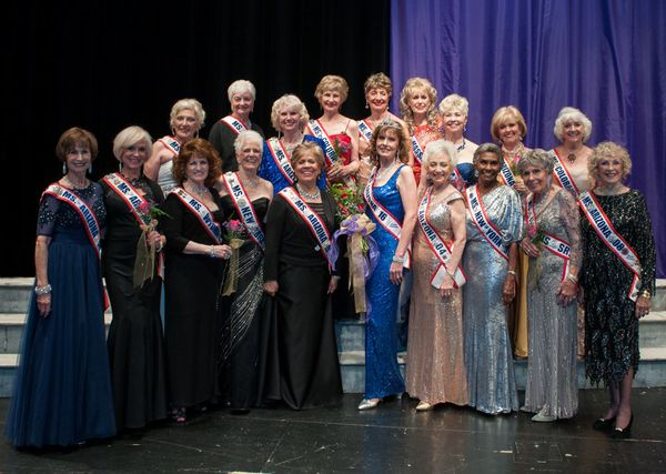 The new Ms. Senior Arizona with all of the contestants.