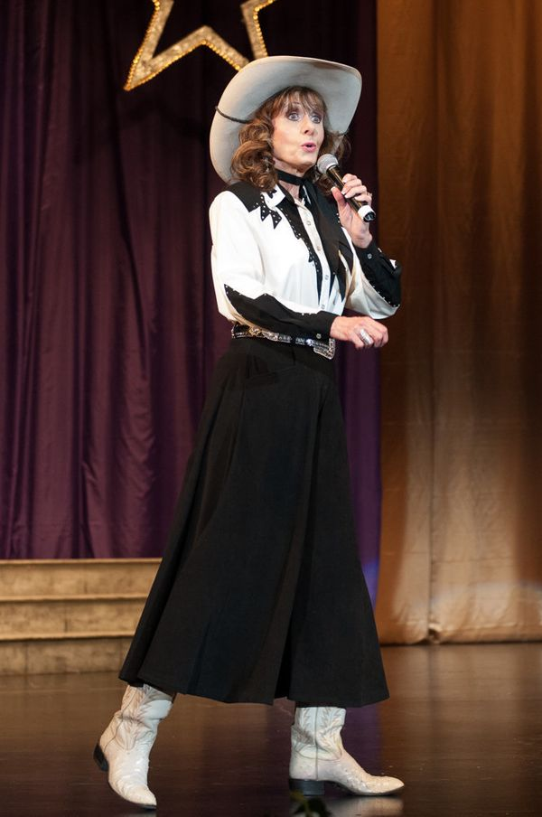 Jeanne Martin, the new Ms. Sr. Arizona, performing during the talent competition.