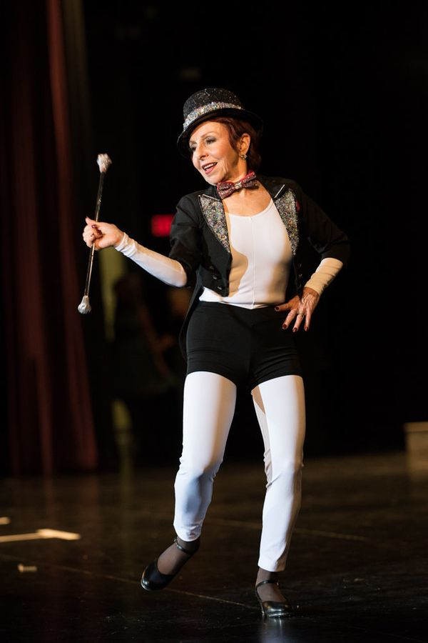 Jacqui Bassett, of Phoenix Arizona, performing during the talent competition.
