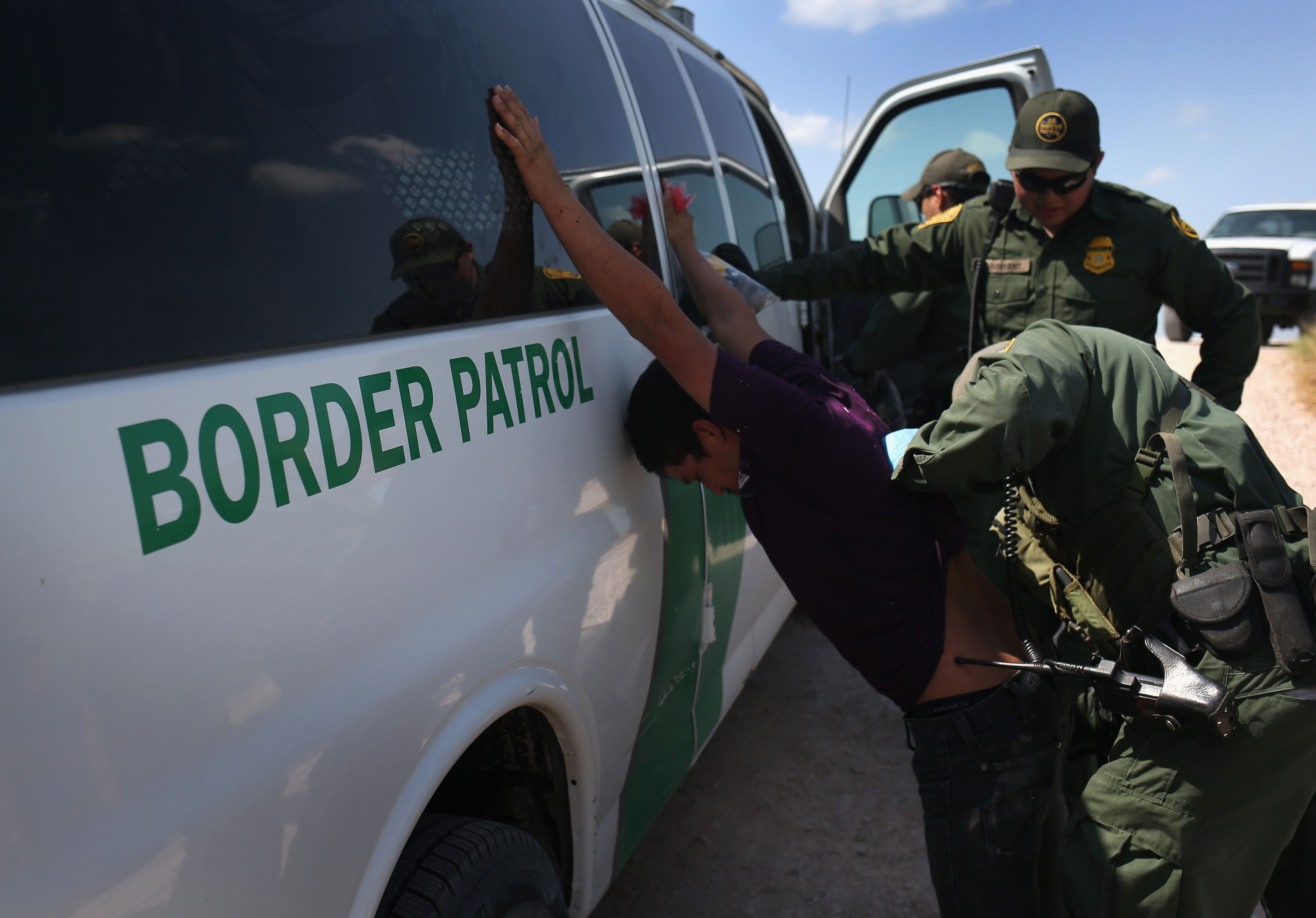 Nearly 30 people who were deported say Border Patrol took their possessions and failed to return them.