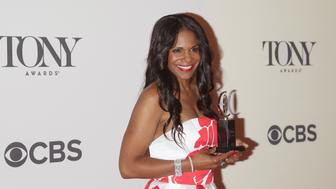 NEW YORK, NY - JUNE 08:  Actress Audra McDonald, winner of best performance by an actress in a leading role in a play, attends American Theatre Wing's 68th Annual Tony Awards at Radio City Music Hall on June 8, 2014 in New York City.  (Photo by Jim Spellman/WireImage)