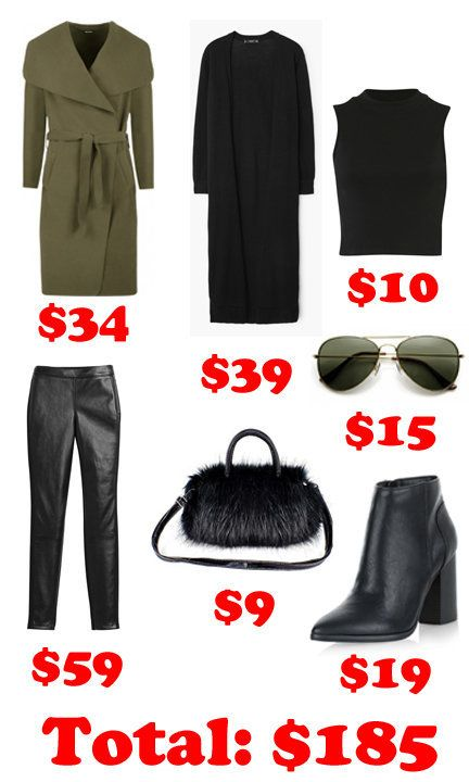 Kendall's look for less