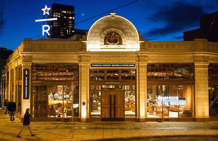Starbucks' Seattle Roastery