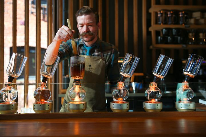Starbucks Is Opening A Huge New Roastery In New York City