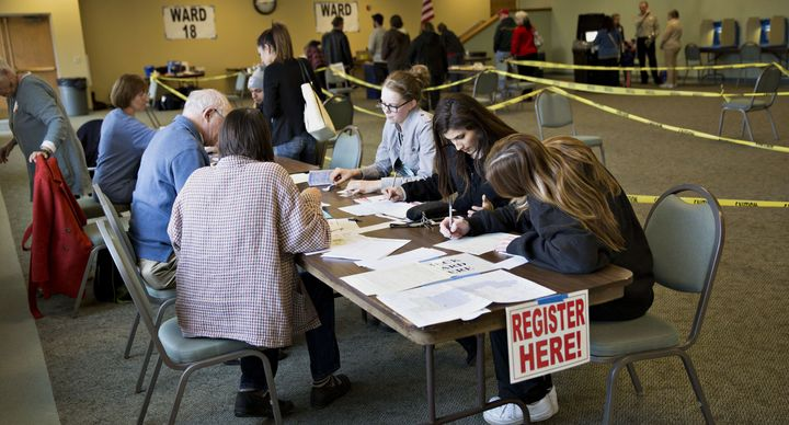 Some Wisconsin voters had a difficult time casting their ballot on primary day because of the state's photoID law.