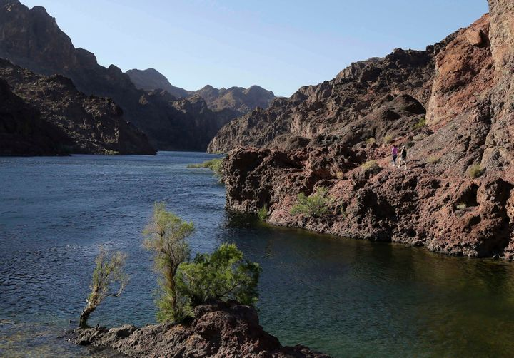 The Colorado River provides water to seven different states.