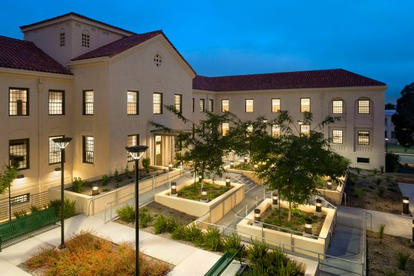 Homeless Veterans Transitional Housing, VA Campus; Los Angeles, CA<br>LEO A DALY