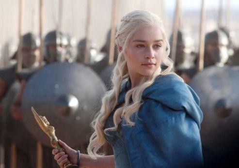 Emilia Clarke's Daenerys is back in the hands of the Dothraki ahead of Season