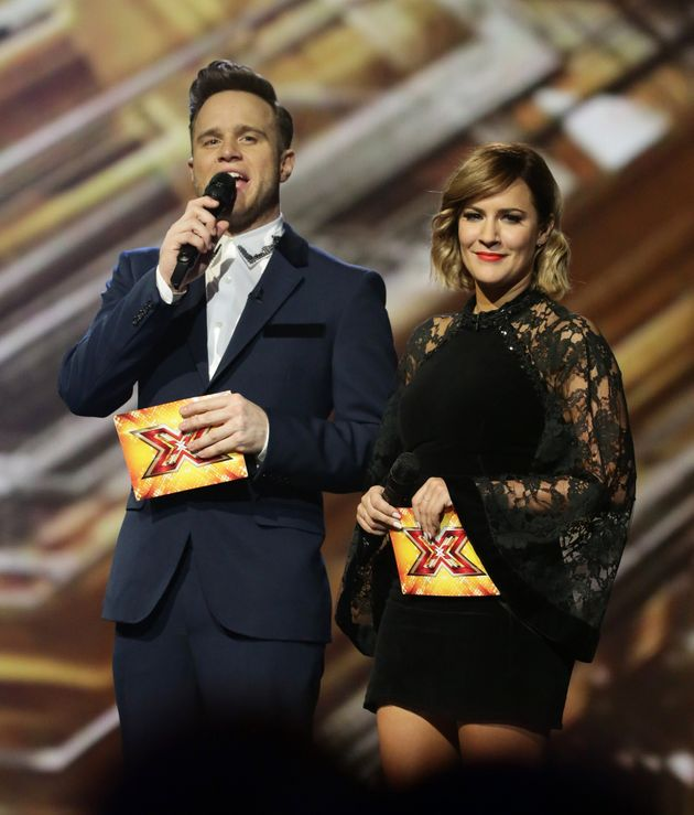 Caroline and Olly came in for criticism on 'X