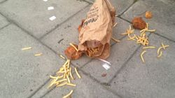 Someone In Cheltenham Dropped An Entire KFC Meal And The Local Paper Did A Story On