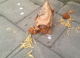 Someone In Cheltenham Dropped An Entire KFC Meal And The Local Paper Did A Story On It
