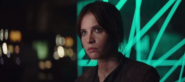 'Rogue One' Trailer Sees Felicity Jones Take The Lead In 'Star Wars'