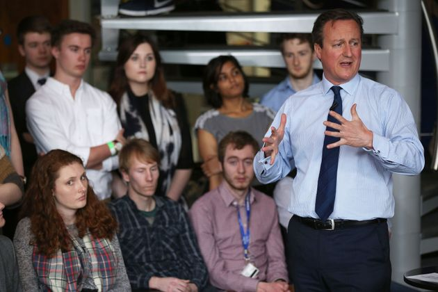 Exeter University Student Ambushes David Cameron Over Tax