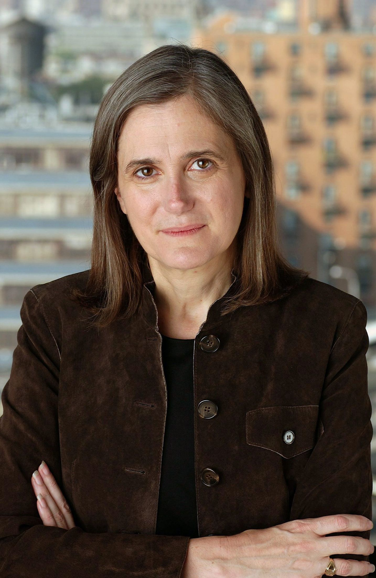 Amy Goodman of the U.S. is pictured in a handout photo issued October 1, 2008. The Right Livelihood Award, or 'Alternative Nobel' named on Wednesday four laureates for their work to promote peace, social justice and independent reporting. Goodman is awarded for her independent political journalism. REUTERS /Right Livelihood Foundation/Handout  (SWEDEN)