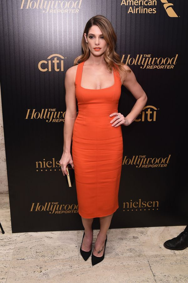 <strong>Ashley Greene in Narciso Rodriguez:</strong> This color is doing the actress all kinds of favors. It not only br